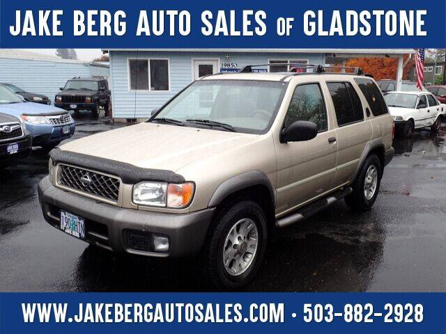 2001 Nissan Pathfinder for sale at Jake Berg Auto Sales in Gladstone OR