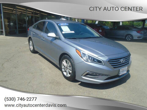 2015 Hyundai Sonata for sale at City Auto Center in Davis CA