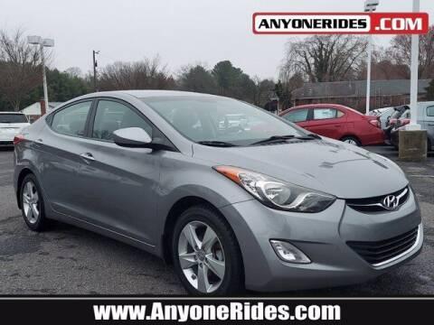 2013 Hyundai Elantra for sale at ANYONERIDES.COM in Kingsville MD