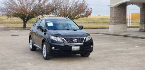2012 Lexus RX 350 for sale at America's Auto Financial in Houston TX