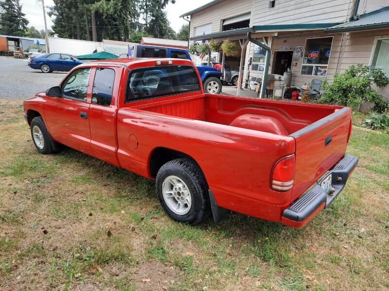2000 Dodge Dakota 2dr Sport Plus Extended Cab SB - Mckenna WA