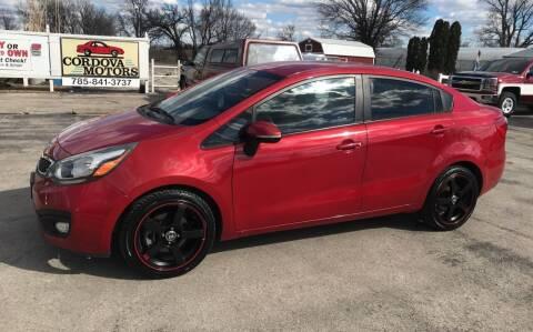 2012 Kia Rio for sale at Cordova Motors in Lawrence KS