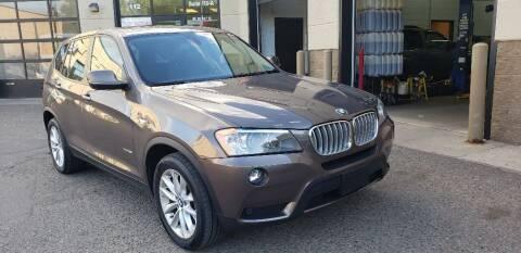 2013 BMW X3 for sale at Fleet Automotive LLC in Maplewood MN