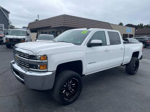2015 Chevrolet Silverado 2500HD for sale at MAGNUM MOTORS in Reedsville PA