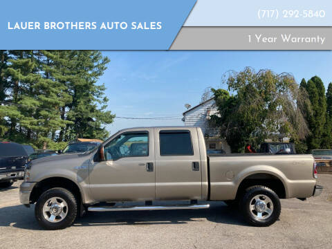 2005 Ford F-250 Super Duty for sale at LAUER BROTHERS AUTO SALES in Dover PA
