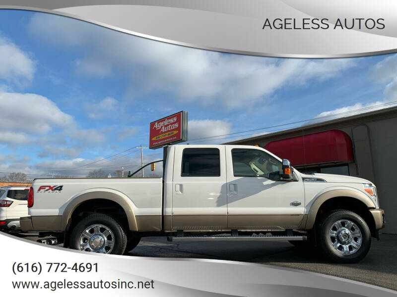 2014 Ford F-350 Super Duty for sale at Ageless Autos in Zeeland MI