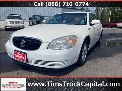 2007 Buick Lucerne for sale at TTC AUTO OUTLET/TIM'S TRUCK CAPITAL & AUTO SALES INC ANNEX in Epsom NH