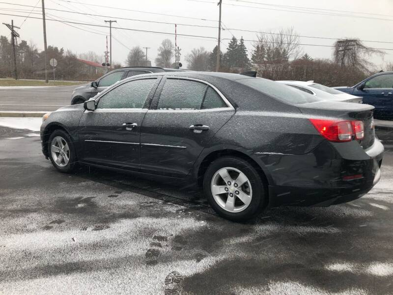 2015 Chevrolet Malibu for sale at KEV'S GASPORT AUTO SALES AND SERVICE, INC in Gasport NY