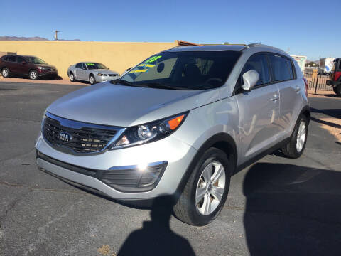 2013 Kia Sportage for sale at SPEND-LESS AUTO in Kingman AZ
