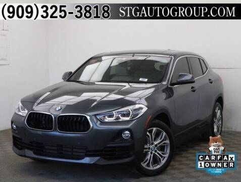 2020 BMW X2 for sale at STG Auto Group in Montclair CA