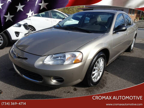 2003 Chrysler Sebring for sale at Cromax Automotive in Ann Arbor MI