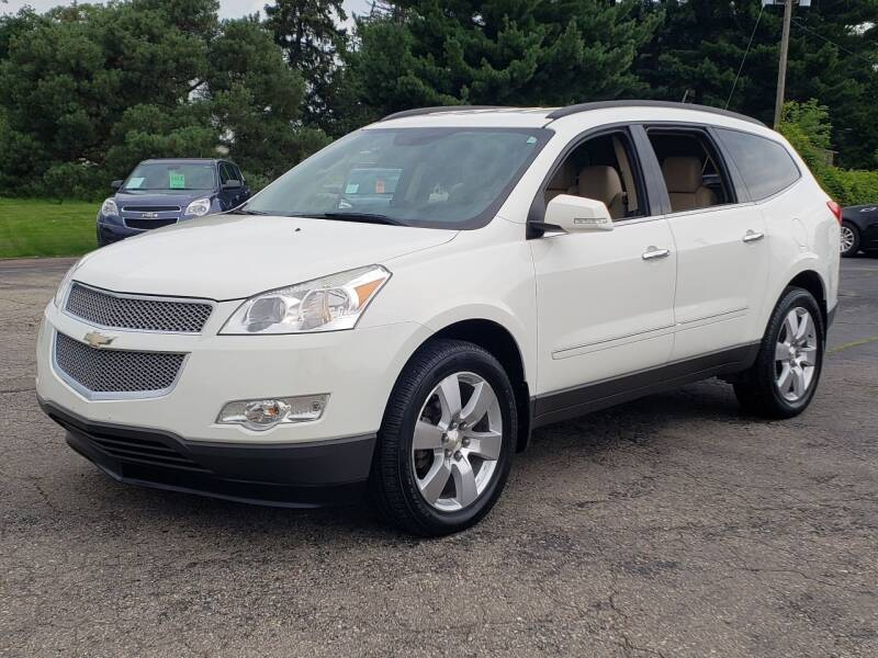 2012 Chevrolet Traverse for sale at Thompson Motors in Lapeer MI