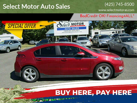 2012 Chevrolet Volt for sale at Select Motor Auto Sales in Lynnwood WA