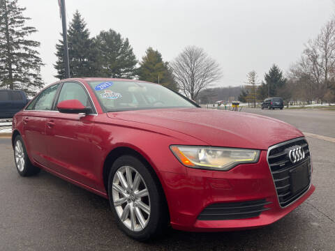 2012 Audi A6 for sale at A 1 Motors in Monroe MI