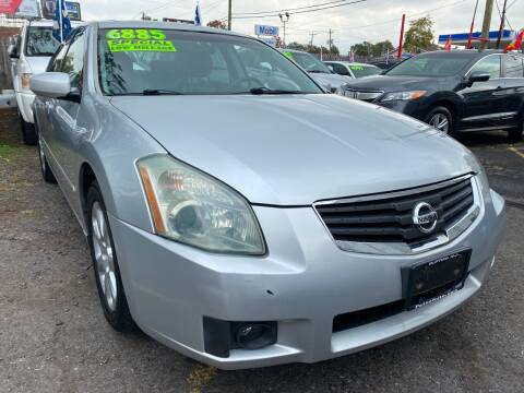 2007 Nissan Maxima for sale at GRAND USED CARS  INC in Little Ferry NJ