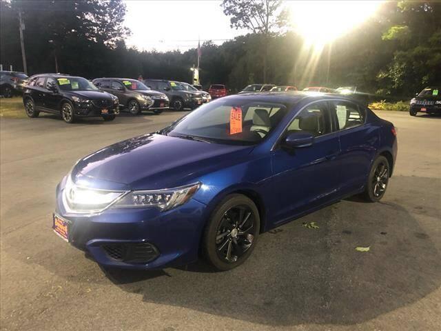 2016 Acura ILX for sale at North Berwick Auto Center in Berwick ME