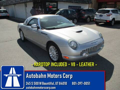 2004 Ford Thunderbird for sale at Autobahn Motors Corp in Bountiful UT