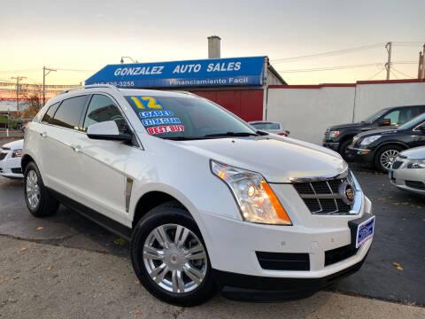 2012 Cadillac SRX for sale at Gonzalez Auto Sales in Joliet IL