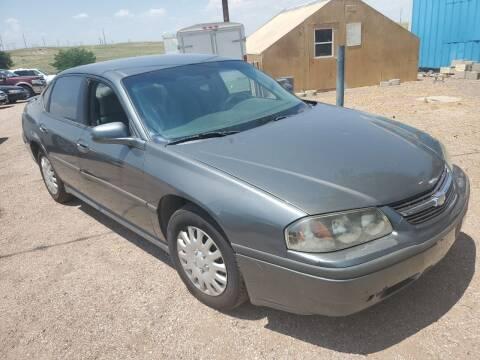 2005 Chevrolet Impala for sale at PYRAMID MOTORS - Pueblo Lot in Pueblo CO