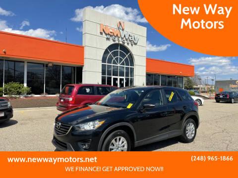 2016 Mazda CX-5 for sale at New Way Motors in Ferndale MI