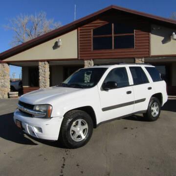 2005 Chevrolet TrailBlazer for sale at PRIME RATE MOTORS in Sheridan WY