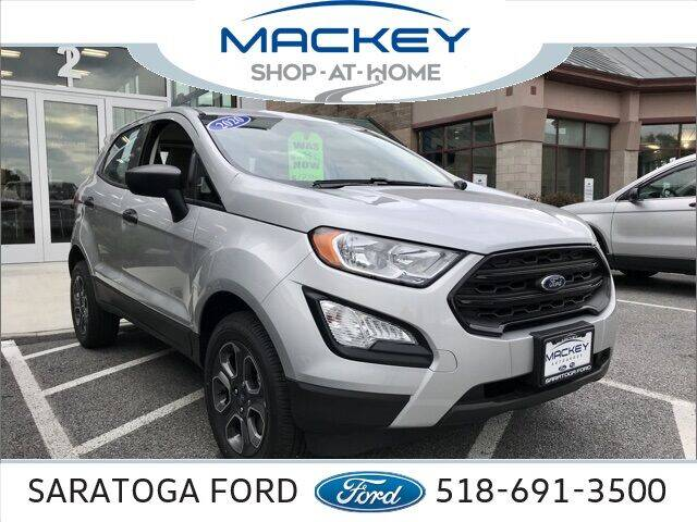 2020 Ford EcoSport for sale in Saratoga Springs, NY