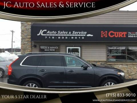 2017 Volvo XC90 for sale at JC Auto Sales & Service in Eau Claire WI
