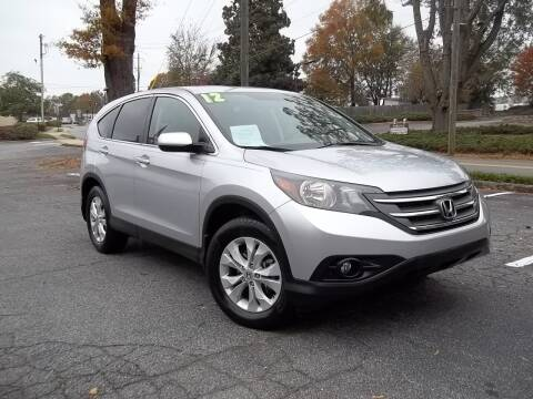 2012 Honda CR-V for sale at CORTEZ AUTO SALES INC in Marietta GA
