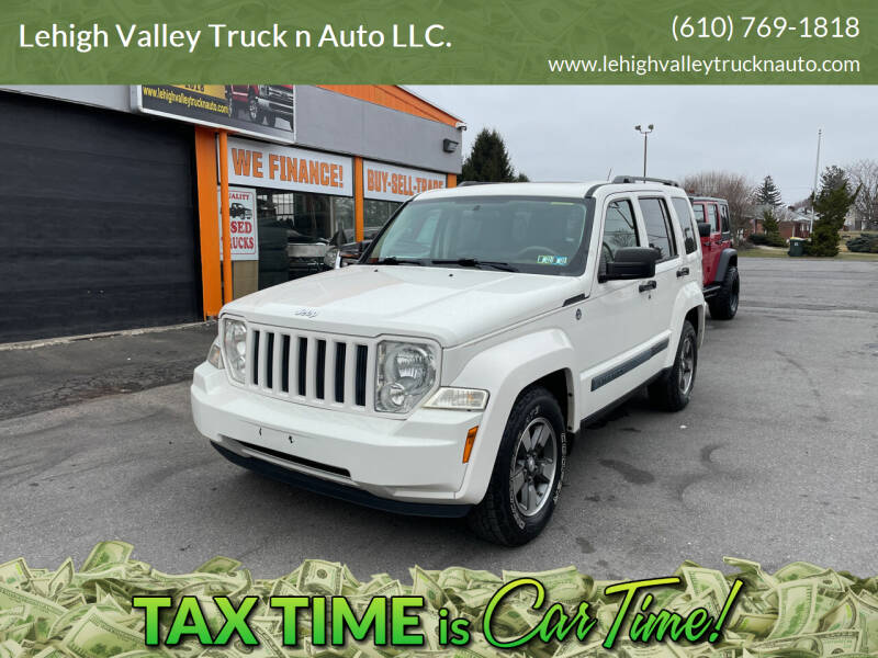 2008 Jeep Liberty for sale at Lehigh Valley Truck n Auto LLC. in Schnecksville PA