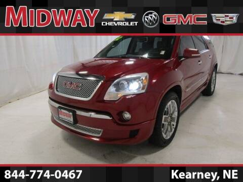 2012 GMC Acadia for sale at Midway Auto Outlet in Kearney NE