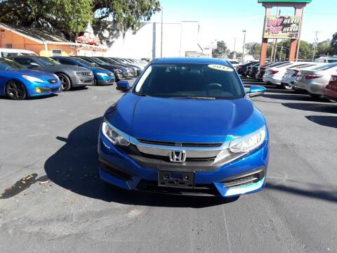 2017 Honda Civic for sale at Gold Motors Auto Group Inc in Tampa FL