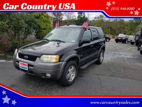 2004 Ford Escape for sale at Car Country USA in Augusta NJ