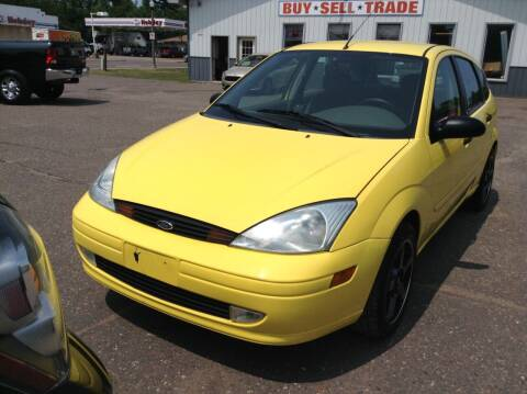 2002 Ford Focus for sale at Steves Auto Sales in Cambridge MN