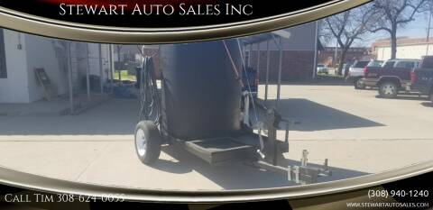 Homemade Water Trailer N/A for sale at Stewart Auto Sales Inc in Central City NE