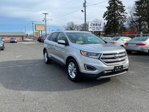 2015 Ford Edge for sale at Chris Auto Sales in Springfield MA