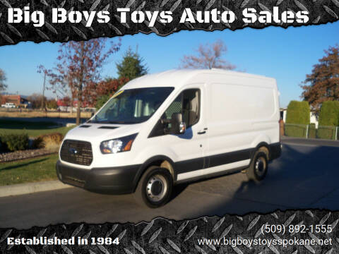 2015 Ford Transit Cargo for sale at Big Boys Toys Auto Sales in Spokane Valley WA