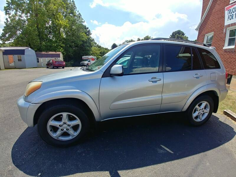 2002 Toyota RAV4 for sale at Regional Auto Sales in Madison Heights VA