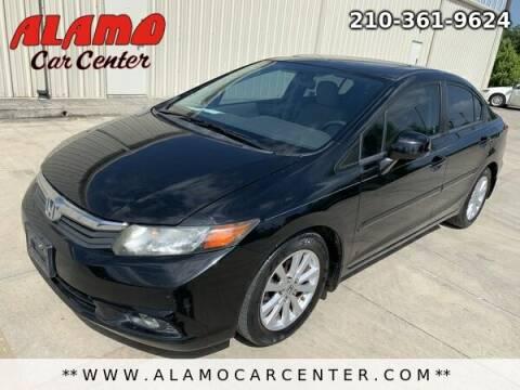 2012 Honda Civic for sale at Alamo Car Center in San Antonio TX