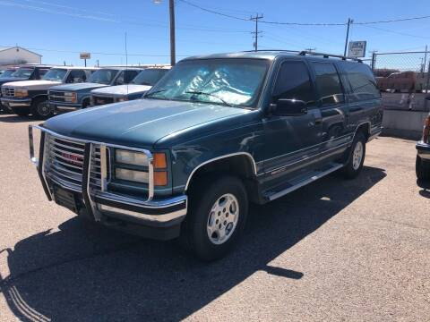 1994 GMC Suburban for sale at AFFORDABLY PRICED CARS LLC in Mountain Home ID