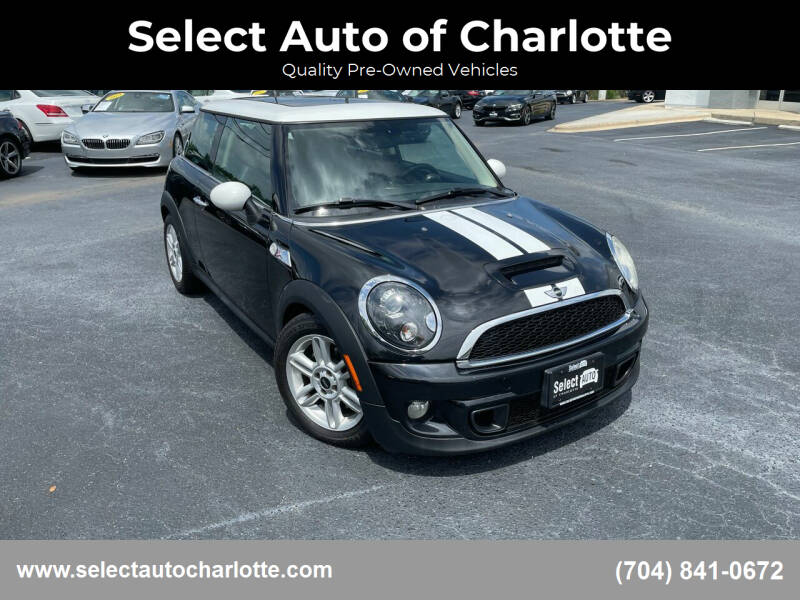 2013 MINI Hardtop for sale at Select Auto of Charlotte in Matthews NC