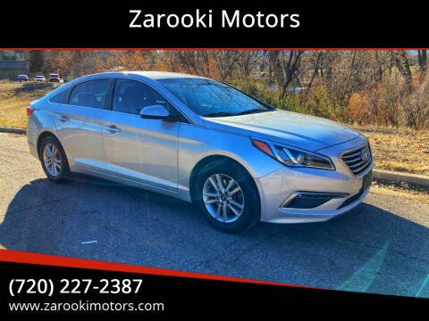 2015 Hyundai Sonata for sale at Zarooki Motors in Englewood CO