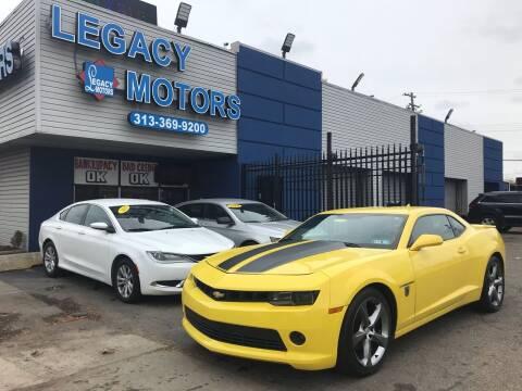 2014 Chevrolet Camaro for sale at Legacy Motors in Detroit MI