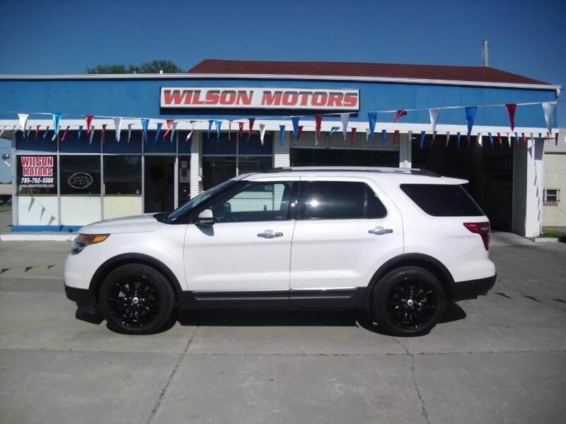2014 Ford Explorer for sale at Wilson Motors in Junction City KS