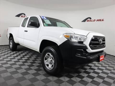 2016 Toyota Tacoma for sale at Bald Hill Kia in Warwick RI