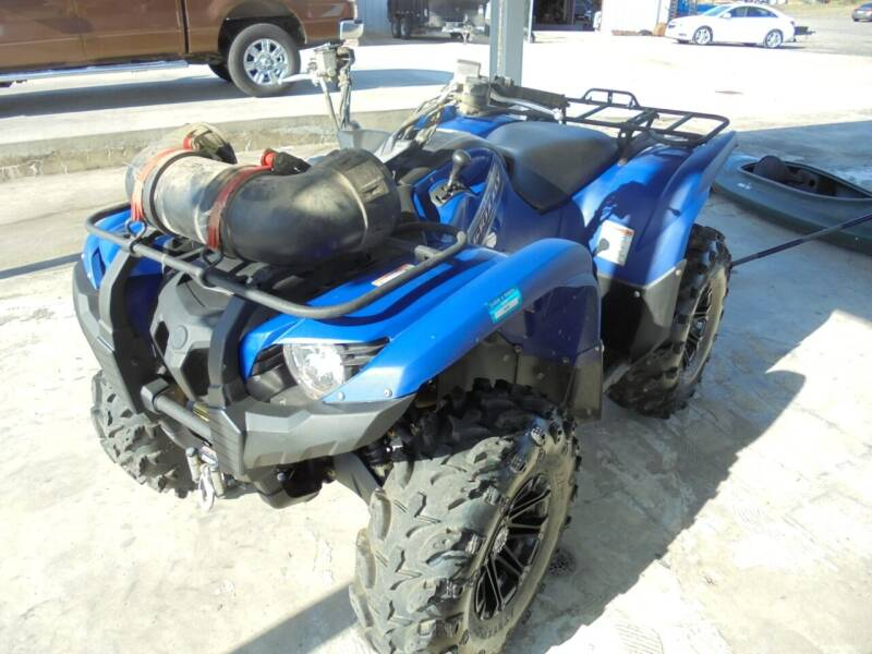 2012 Yamaha Grizzly 550 4x4 EPS for sale at US PAWN AND LOAN in Austin AR