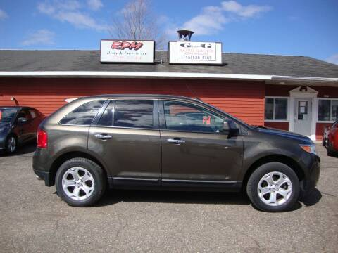 2011 Ford Edge for sale at G and G AUTO SALES in Merrill WI