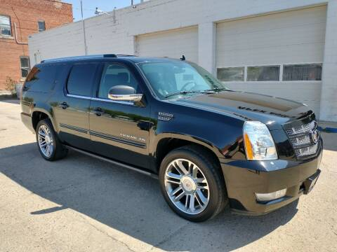2014 Cadillac Escalade ESV for sale at Apex Auto Sales in Coldwater KS