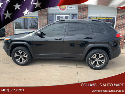 2015 Jeep Cherokee for sale at Columbus Auto Mart in Columbus NE