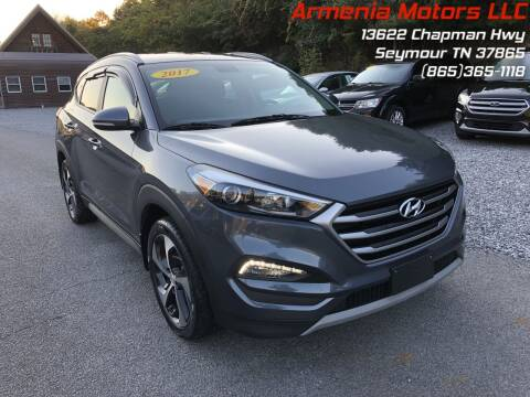 2017 Hyundai Tucson for sale at Armenia Motors in Seymour TN