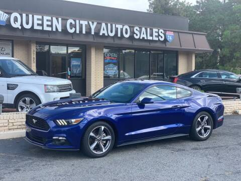 2015 Ford Mustang for sale at Queen City Auto Sales in Charlotte NC